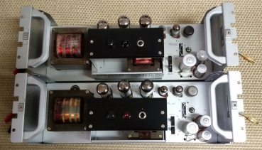 "Up for sale is a matched PAIR KLV408a Klangfilm tube power amplifier ""plug and play""."