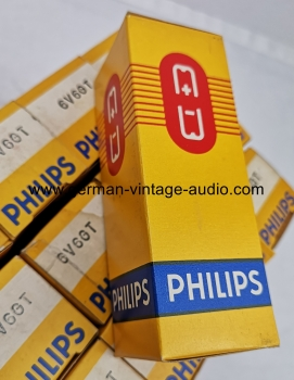 15x Philips 6V6GT NOS NIB never used