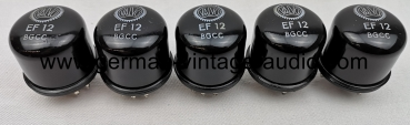 5x Valvo EF12 NOS from bulk pack never used for Klangfilm amplifier