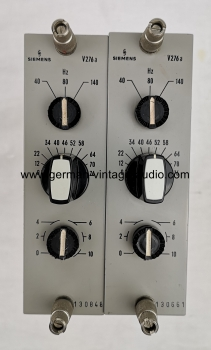 Pair Siemens V276a SITRAL microphone preamplifier