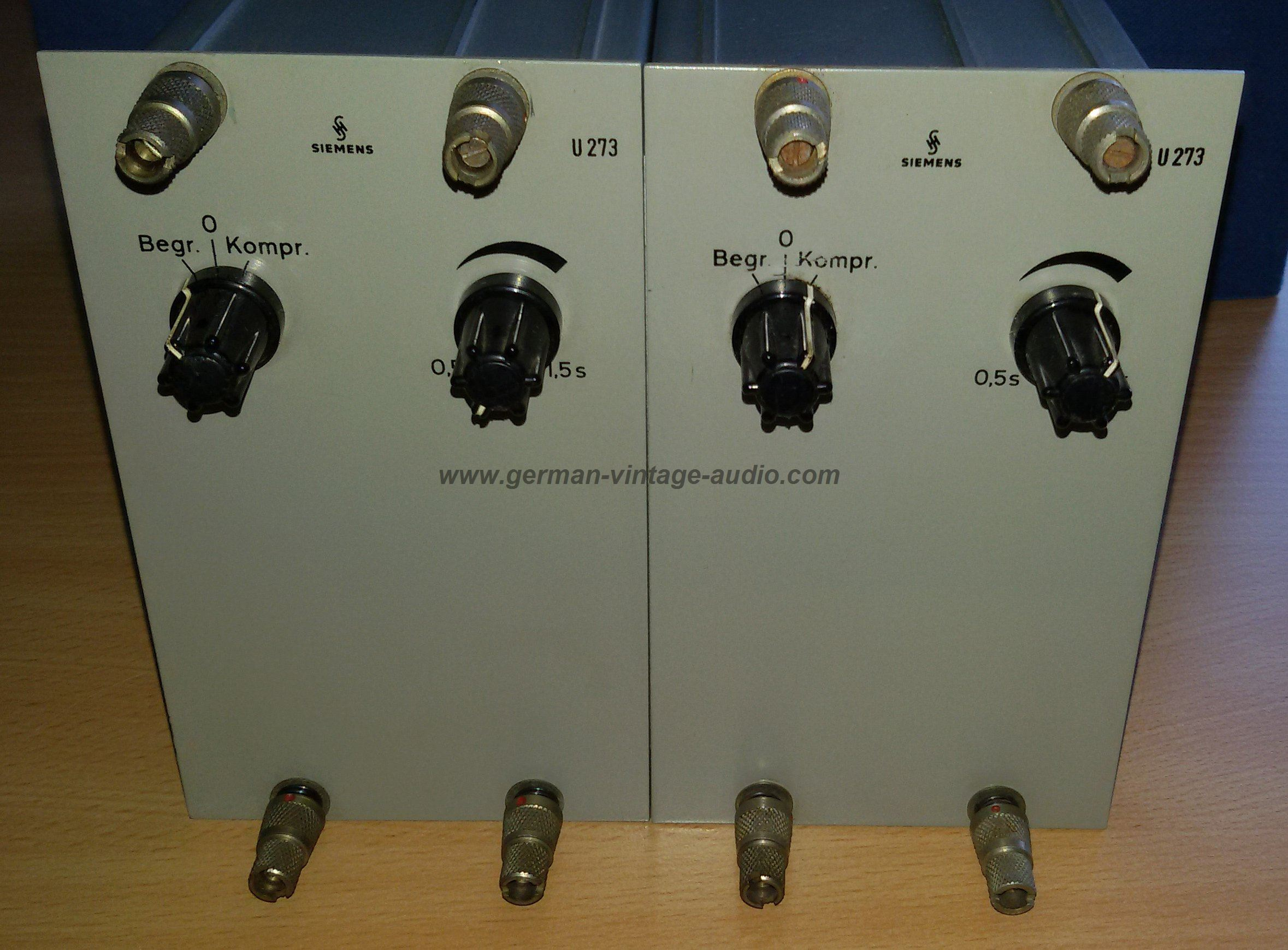 German Vintage Audio - Siemens Sitral U273 Compressor/ Limiter