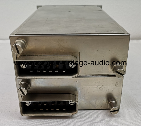 Pair of vintage preamplifiers V72 made by Siemens